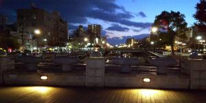 呉・堺川の夜景