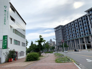呉市役所前のビジネスホテル