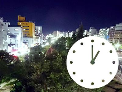 門限は深夜1時・呉市の非喫煙者専用ビジネスホテル・第1パークホテル