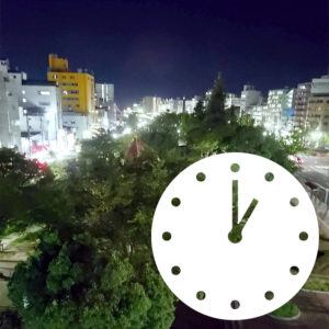 門限は深夜1時 ・呉市の非喫煙者専用ビジネスホテル・第1パークホテル
